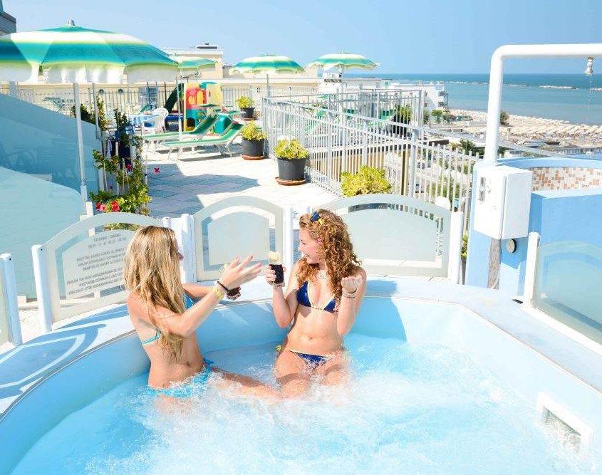 Hotel Cesenatico con vista mare